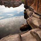 Watson Lake Reflection by rwilks