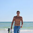 Great day at the beach -Skim Boarding by Missy Yoder