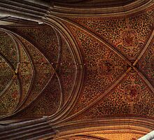 The Cathedral III - Uppsala, near Stockholm, Sweden by Mark Richards