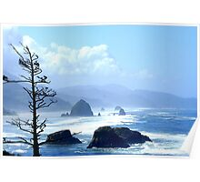 Cannon Beach Morning Poster