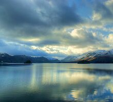 Derwentwater in January by VoluntaryRanger
