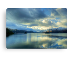 Derwentwater in January Canvas Print