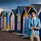 Praveen on Brighton Beach  by Stephen Colquitt