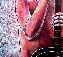 """Pink Lady Blues by Belinda """"BillyLee"""" NYE (Printmaker)"""