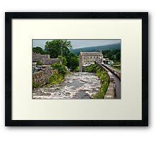 Gayle Mill - Hawes Framed Print