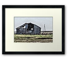 Natural Air Conditioning Framed Print