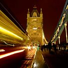 Tower Bridge in a London Night by DavidGutierrez