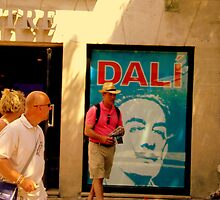 Dali Exposition in Montmarte yesterday!! by Rusty  Gladdish