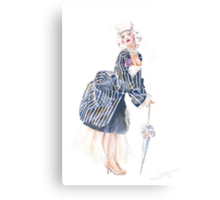 miss Ro co co Canvas Print