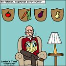Safari Veggie Hunter by Londons Times Cartoons by Rick  London