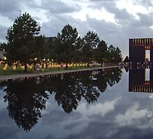 Floating Reflections -- Oklahoma City Memorial by John Carpenter