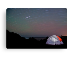 Roaring Stars at Flamber Head Canvas Print