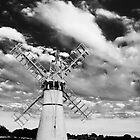 Thurne Windmill B&W by ArtforARMS
