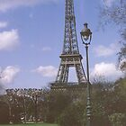 Eiffel Tower, Paris, France,1970 by leftfieldnz