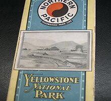 Northern Pacific Yellow Stone Park line Brochure by Chris Chalk
