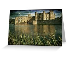 Leeds Castle Across the Moat Greeting Card