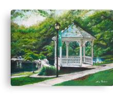 Salem Lake Spring Park Canvas Print