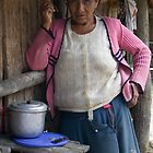A Peruvian Woman in Manu by Rachel  Chaikof