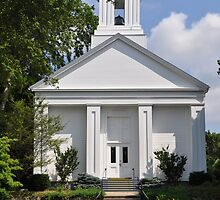 Wickford Rhode Island Church  by Shelby  Stalnaker Bortone