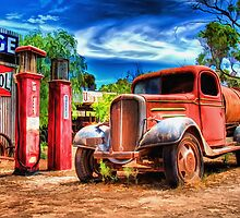 Yesteryear's Garage by Shannon Rogers