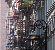 New York Fire Escapes by Gary Chapple