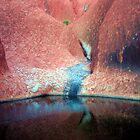 Waterhole at Uluru  by dozzam