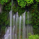 Burney Falls with Satin Curtains... by ducilla
