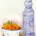 Fruit in Delphinium by Blended