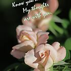 Card with Roses, Know you Are Loved by Corri Gryting Gutzman