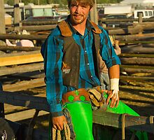 Colorful Cowboy by lincolngraham