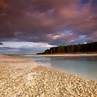 Sun set at Findhorn bay by donnnnnny