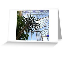 Palms and Glass Greeting Card