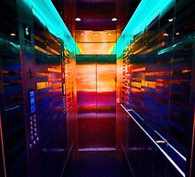 The Neon Elevator by Stewart  Hardy