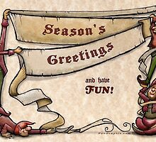 Season's Greetings  by Kevin Middleton