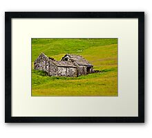Ruined Barn Framed Print