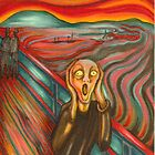 After &quot;The Scream&quot; My version by Catherine  Howell