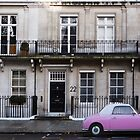 Barbie Pink in London by Yannick Verkindere