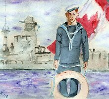 Canadian Navy is 100 years Old by Blended