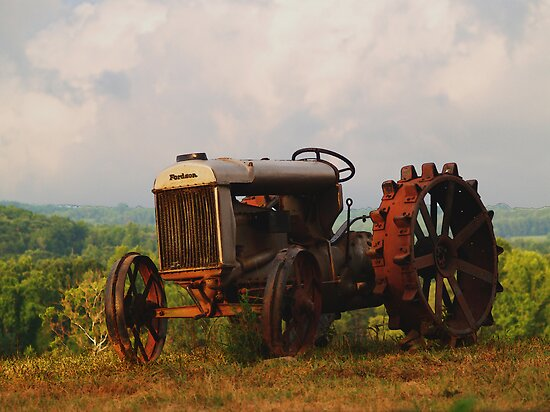 Fordson Tractor - Pittsylvania County, Virginia by BCallahan