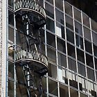 fancy fire escape,san francisco,Sutter street by califpoppy1621