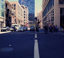 intersection in downtown san francisco by califpoppy1621
