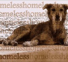 The Vacant Eyes of the Homeless Dog by paintingsheep