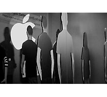 Apple God Photographic Print