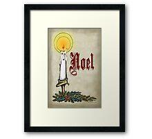 NOEL Framed Print