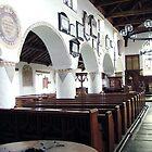 Inside Hawkshead Church, Lake District, UK. by Roy  Massicks