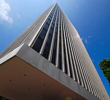 Building 1 on the Plaza by John Schneider