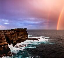 Rainbow Ghost by Geoff  Coleman - Landscapes