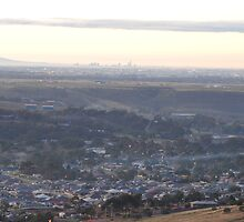 Bacchus Marsh Valley on a cold frosty Dawn by KarynL