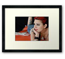 Miss Amanda Framed Print