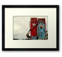 Two Lovers. Framed Print